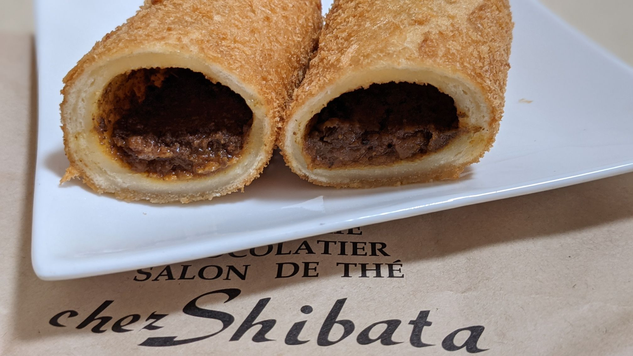 シェ・シバタエクスプレスのカレーパン