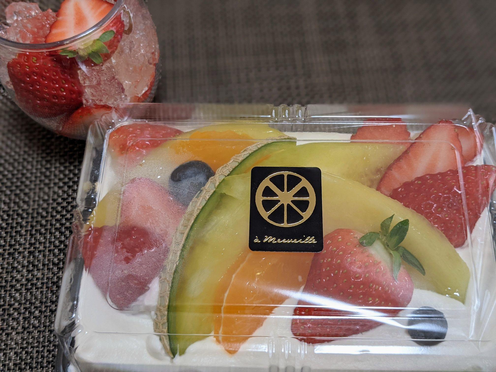 サポーレ熱田伏見通り店のアメルベイユ オープンフルーツサンド