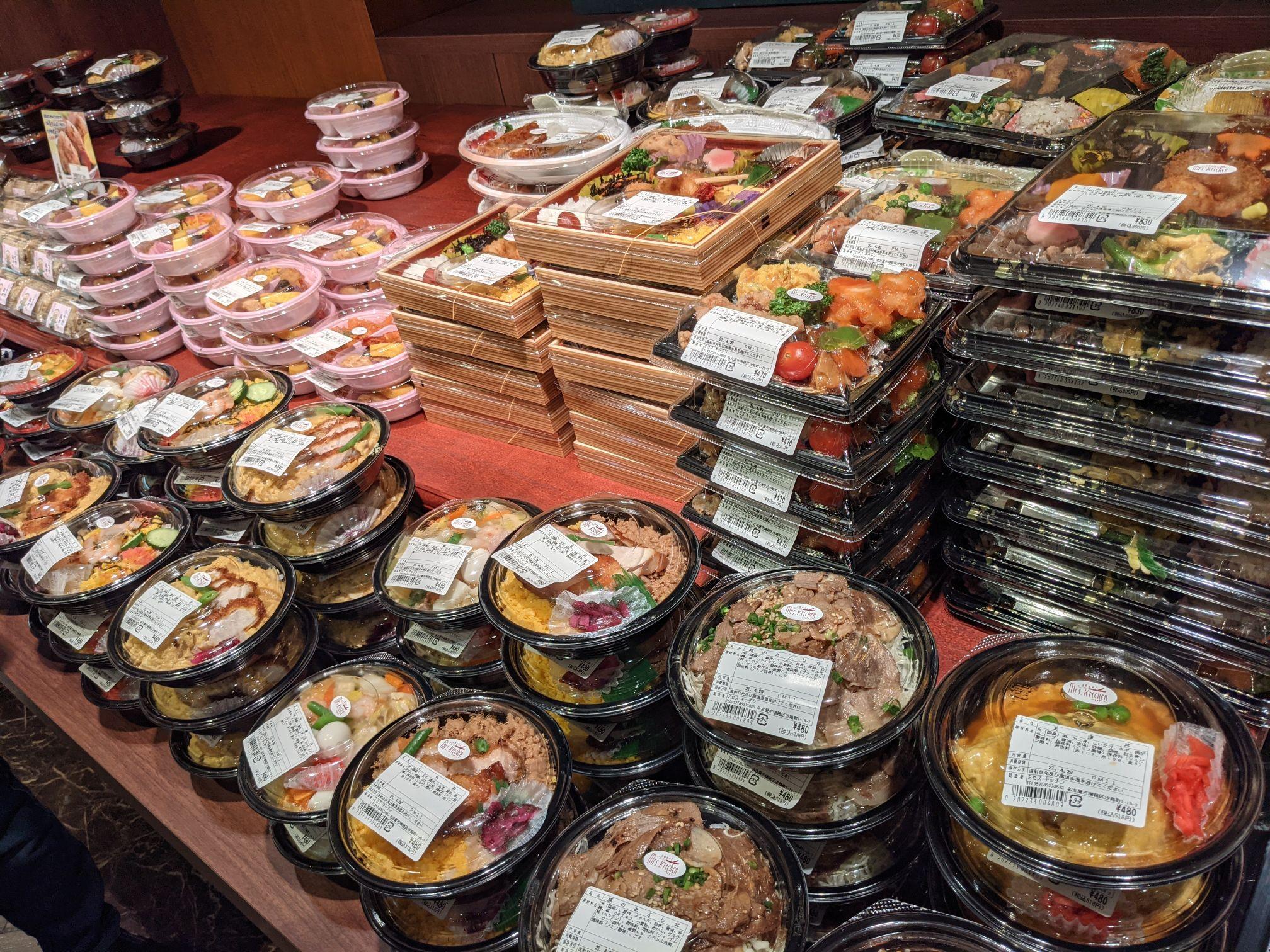 サポーレの惣菜売り場